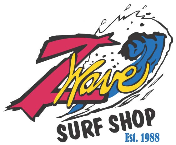 Z Wave Surf Shop 2013 Sponsor